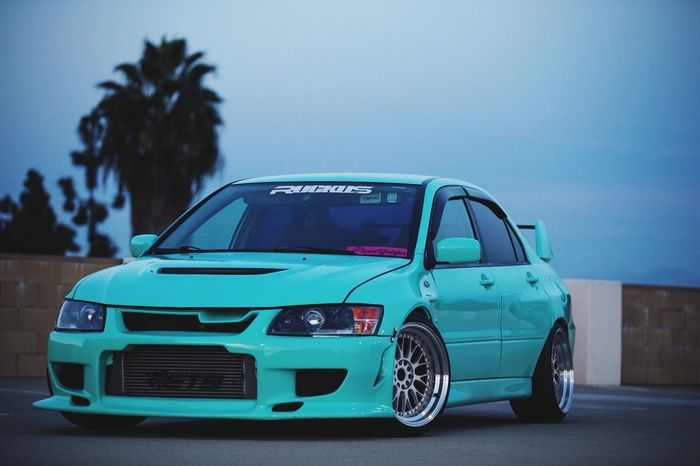 Car Evo Mitsubishi Carphotography Tiffanyblue Photography Photoshoot