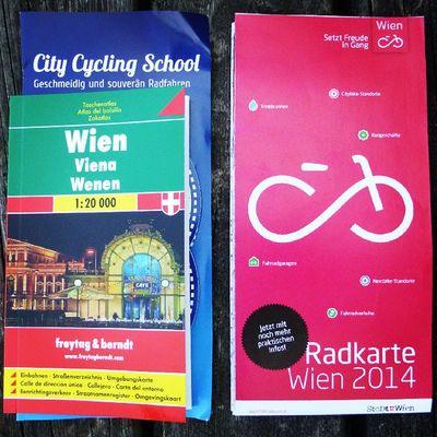 Freytag &Berndt Stadtkarte und Fahrradwien Radkarte for City Cycling School' courses attendees!