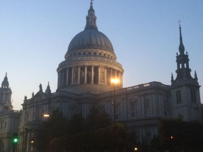 Architecture Building Exterior Built Structure City Cultures Day Dome England London No People Outdoors Place Of Worship Religion Sky Spirituality St Pauls Cathedral Travel Destinations Tree