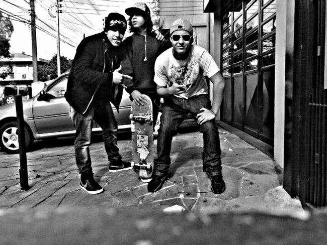 Alegria de tá com vocês brother's #batata #paulinho Skate Boarding  Friends Stay Gold  Street