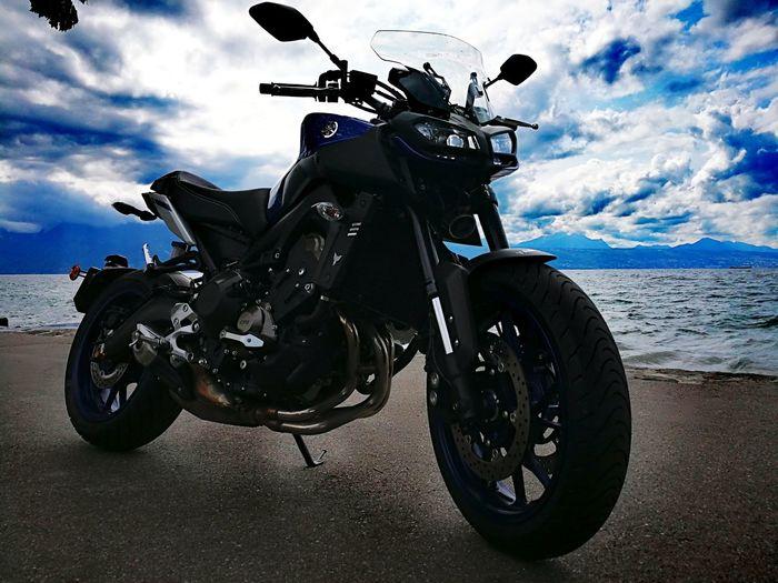Yamaha Mt09 Motorcycle Adults Only Lake Leman Lausanne