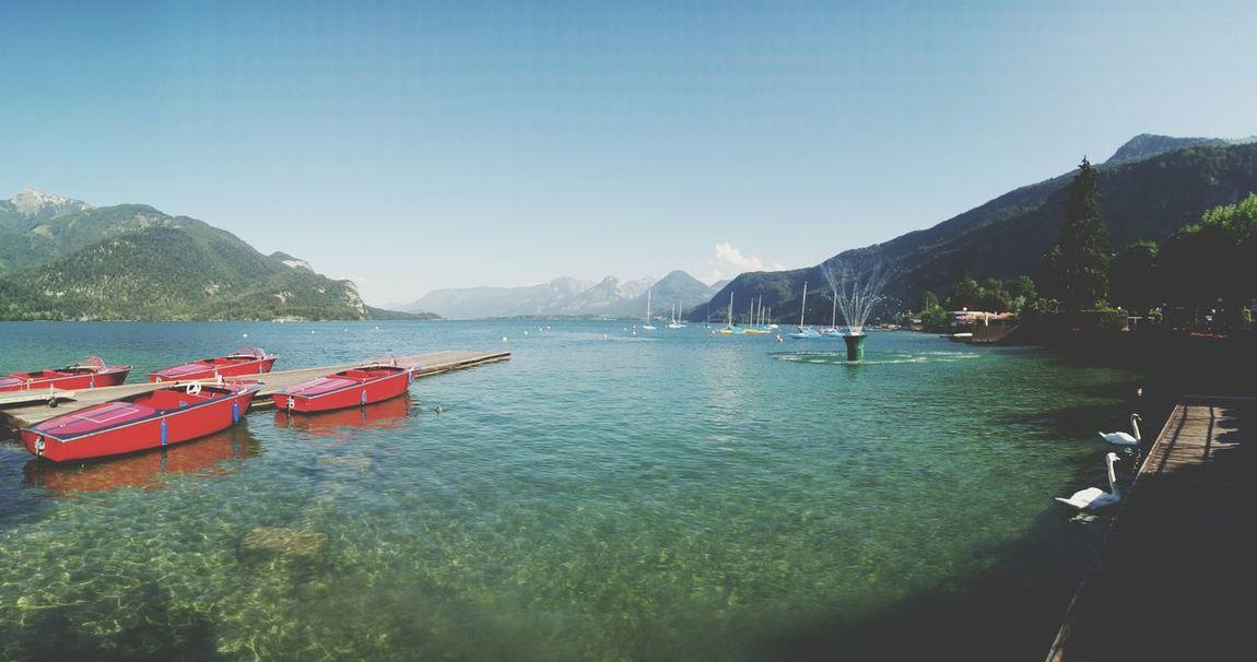 Beautiful Austria Stgilgen Wolfgangsee Lake