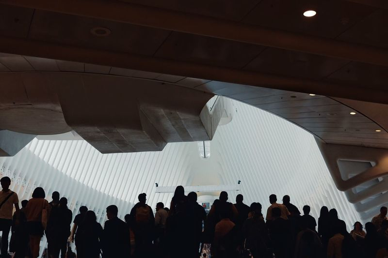 Large Group Of People Real People Audience Arts Culture And Entertainment Built Structure Architecture Illuminated Indoors  Stage - Performance Space Music Lifestyles Men Togetherness Crowd Women Popular Music Concert Day People Adult Adults Only The Oculus