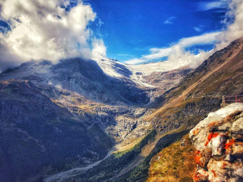 Remains of a glacier Explore Summer Switzerland Alps Glacier