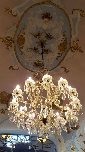 Firenze Florence Erboristeria Officina Profumo Farmaceutica Di Santa Maria Novella Erboristeria Maria Santa Novella Italia Italy Bella Italia Beauty Of Italy Indoors  Travel Destinations Low Angle View No People Close-up Chandelier Crystal Chandelier Light Catherine2017