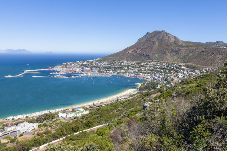 Panoramic view of Hout Bay and mountains range from Chapmens Peak drive, South Africa Water Mountain Sky Scenics - Nature Beauty In Nature Sea Tranquil Scene Tranquility Nature Blue Clear Sky Day Land No People Plant Non-urban Scene Environment Beach Idyllic Mountain Range Outdoors Mountain Peak South South Africa Cape Peninsula Hout Bay Hout Bay Harbour Hout Bay Valley Panorama Mountainpeak Mountains And Valleys Constantia