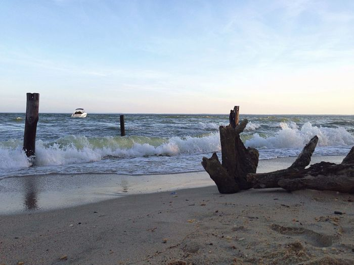 Nature Photography Beach Photography Sandy Beach Boat On Water Boats⛵️ Beach And Waves Foot Print Beach Day Beach Time Sandy Shore Afternoon At The Beach PineyPoint Maryland Maryland Beaches