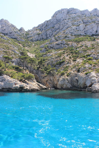 Beauty In Nature Calanques  Day Landscape Marseilles Mountain Nature No People Outdoors Scenics Sea Sky Tree Water