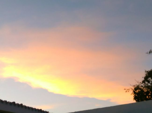 Sunset Sky Multi Colored Beauty In Nature Tranquility Colors Of The Sky Cloud EyeEmNewHere