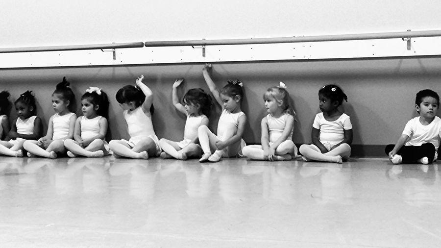 Ballerinas Ballet Tiny Dancer Black & White Everyday Education