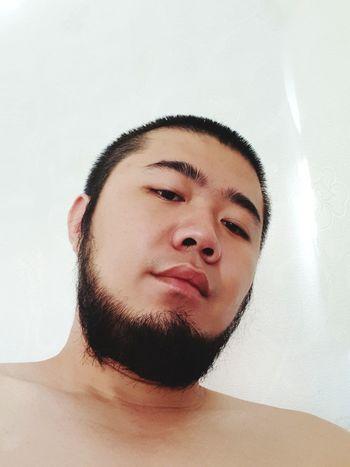 stressed youth EyeEm Selects Portrait Human Face Headshot Men Looking At Camera Beard Shirtless Skin Care Human Skin