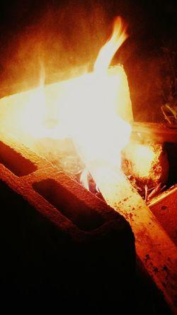 Backyard bonfire....a.k.a mosquito repellant..😁
