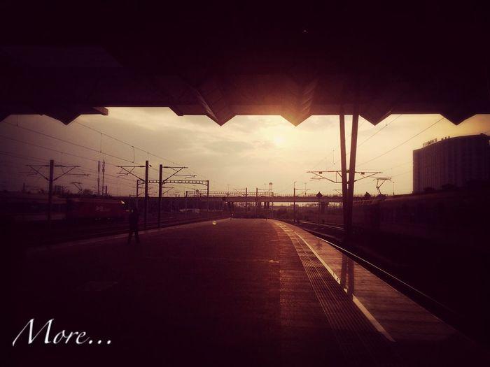 Leaving…