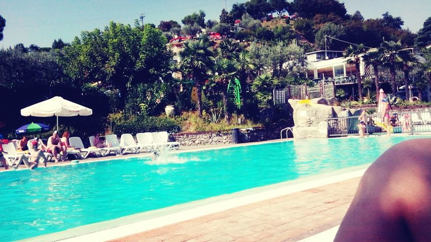 LakeGarda Swimming Pool Summertime