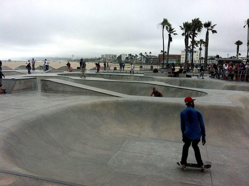 USA Leisure Activity Beach Lifestyles Skateboard Park Skateboard