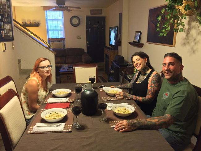 Dinner last night with great friends LaDolceVita MyExoticFriends