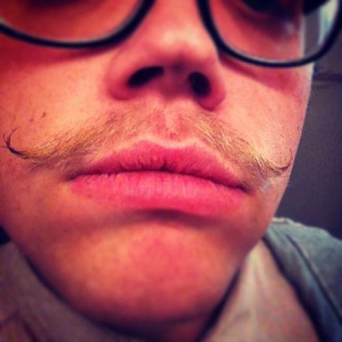 New wax...the stache is in true form ladies and gentlemen! Gpoy Mustache Firehousewax
