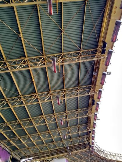 Ceiling Roof Architecture Built Structure Day Heaters Low Angle View No People Outdoors