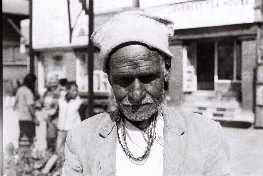 The streets of Kathmandu Nikkormat FS (1965) Filmcamera The Purist (no Edit, No Filter) Portrait Getting Inspired Untold Stories EyeEm Best Shots Taking Photos Kathmandu Fortheloveofblackandwhite