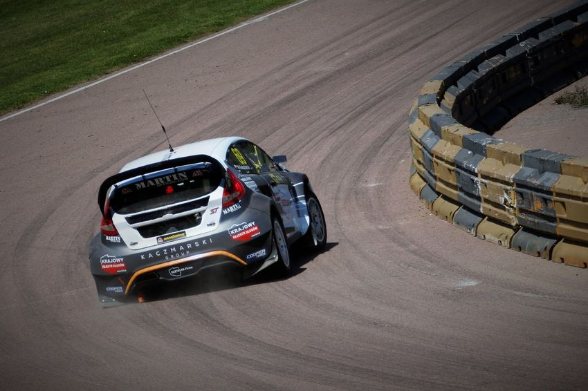 'On The Limit' 2017 Apex Auto Racing Car Day FIA World Rallycross Championship Ford Focus High Angle View Motorsport No People Outdoors Racecar Speed Sport Sports Race