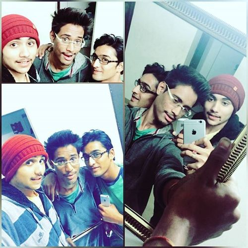 Brothers Night_masti Kai_to_bhi Fun Last_paper Just_end Perfect😎😉😮