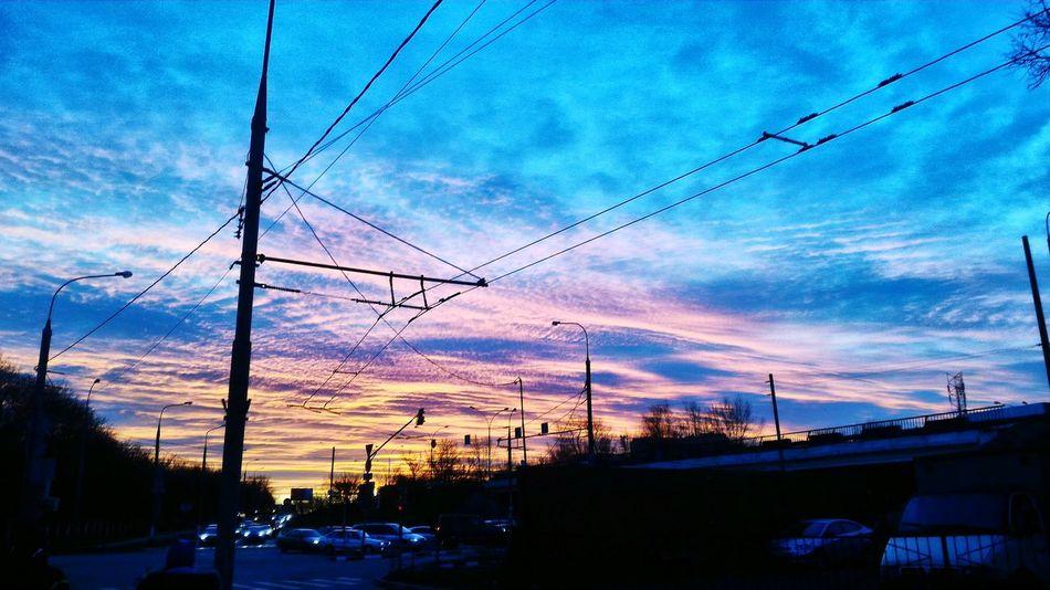 Good Morning Moscow City кузьминки Goodmorning World  Hello World Taking Photos Aroundtheworld 2015  December
