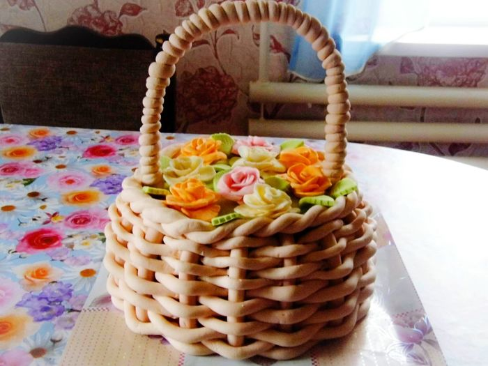 Торт из мастики.... Flower Indoors  No People Ready-to-eat Day