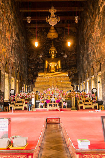 Buddha statue in temple Ancient Buddha Buddha Statue Buddhism History Old Religion Respect Worship