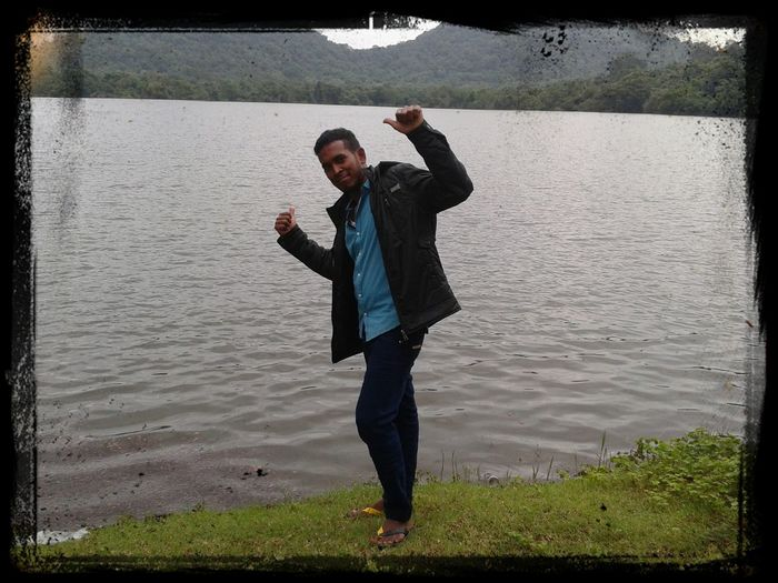 Im at mullipothana pond.