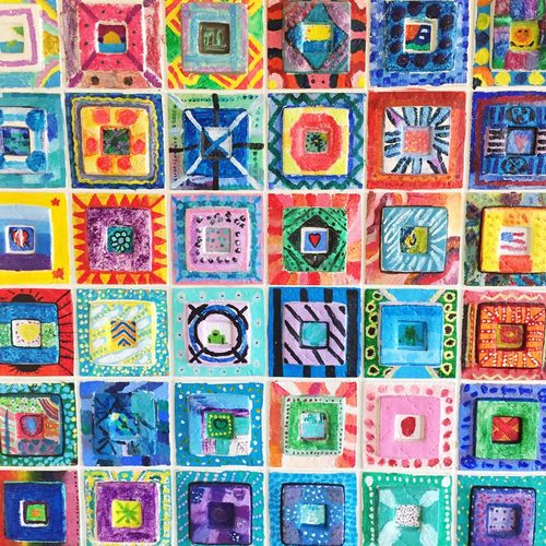 Pine Tree Elementary Art Artsy Colors