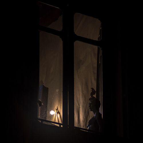 Illuminated lights at home
