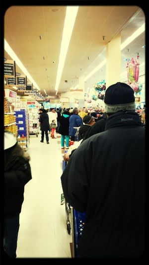 Thanksgiving shopping! Smh...