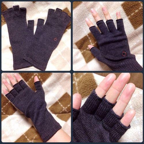 Hand スマホ 手首 Handwarmer 手袋 指ぬき手袋 841 ヤヨイ ハンドウォーマー 冷え取り チャコールミックス