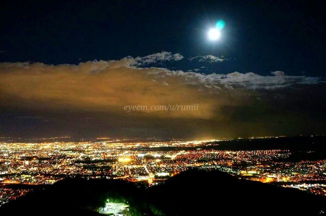 藻岩山 Sapporo, Hokkaido Japan Night View Eye4nightlight EyeEm Best Shots - Landscape EyeEm Best Shots