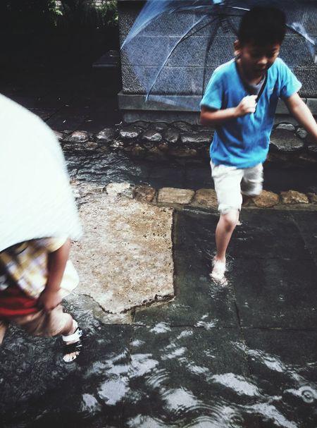 Summer ☀ BoysBoysBoys Spring Water Dabble The Rainbow Umbrella