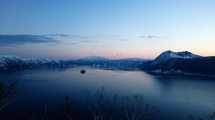 Hokkaido Winter Snow ❄ Ice Lake Sunrise Mashu Japan Snow Lake View Lakeside Lakescape Snowy Trees Frozen Nature Frozen Frozen Lake Nature Photography Nature Nature_collection