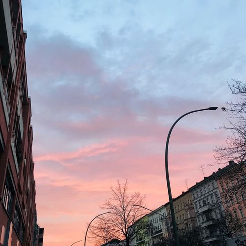 Morning Sky Berlin Clouds And Sky View Sky Cloud - Sky Sunset Nature Architecture Built Structure Low Angle View Building Exterior No People Dramatic Sky Outdoors