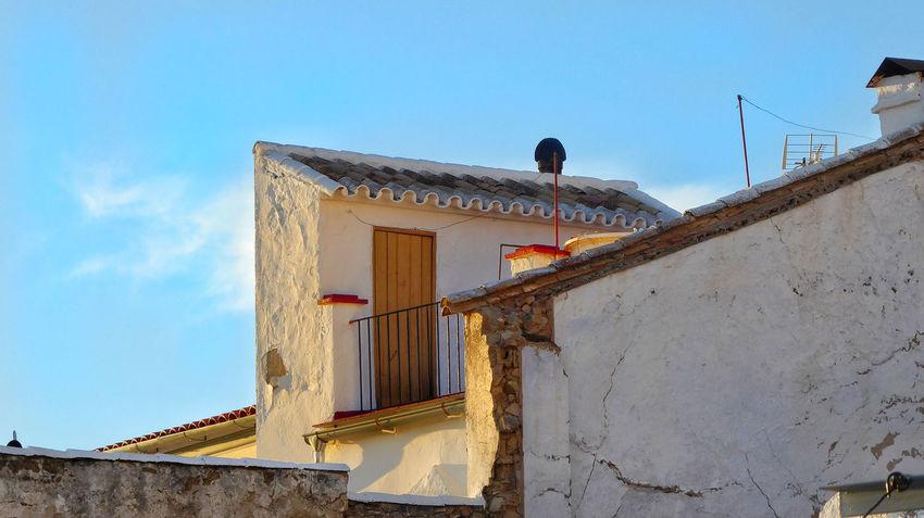 Olvera Pueblos Blancos Andalucía Olvera Spain Rooftop Views Old Town Buildings & Sky Built Structure Rooftop