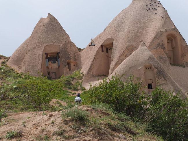 NevşehirKapadokya Architecture Capadokia,Turkey Day Holiday Landscape Nature No People Outdoors Uchisar Kalesi ... Urgup Uchisa EyeEmNewHere Summer Exploratorium