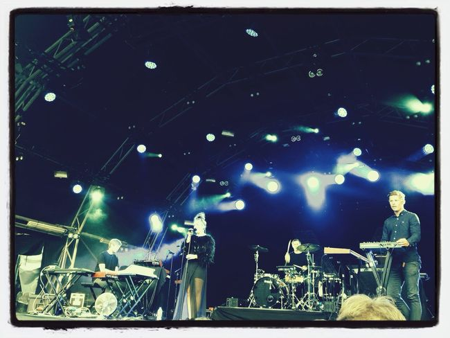 Chvrches @somersethouse Summer ☀ Outdoor Concerts