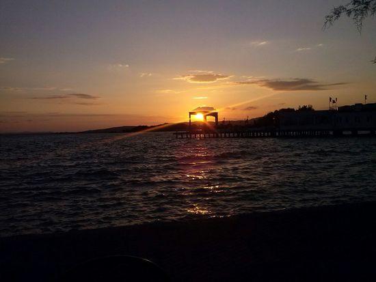 Sunset Italy Passignano Lago Trasimeno Vacation <3