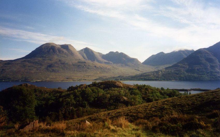Bein Alligin Horns Of Alligin Munro Bagging Torridon Mountains