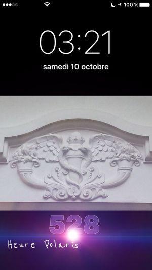03:21... L'Esprit de la Matière Hello World HEURE POLARIS Time Heure Hour Spirituel Spiritual
