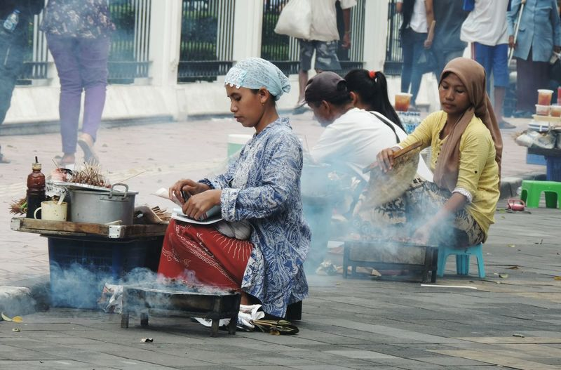 Sate, thats one of traditional food in in Indonesia Cultures Culinary Traditionalfood Just Shot Street Photography Nikon Jogjakarta INDONESIA Taking Photos Backpacker Travel Photography Showcase March