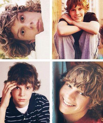 Childhood :) My Love❤ Evan Peters Cutest Face!