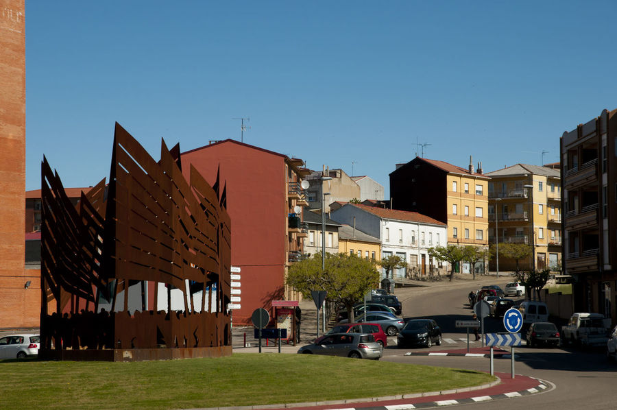 SPAIN Astorga Buildings Built Structure City Residential Building Street Town