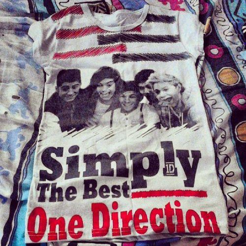 Mi nueva blusa de los wuandi<3 *-* SimplyTheBestOneDirection Directioner Forever :3