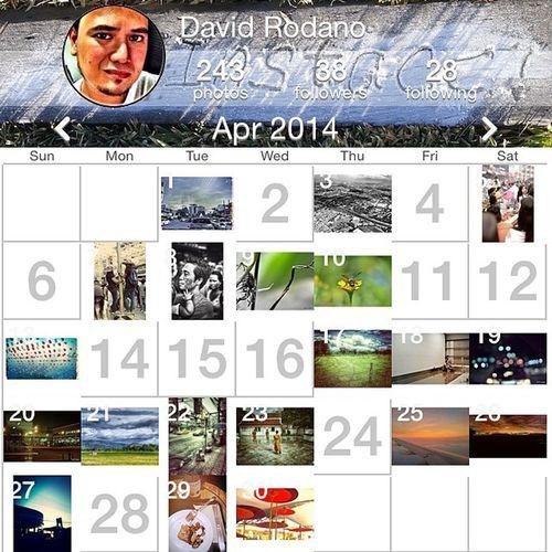 April Month Monthender