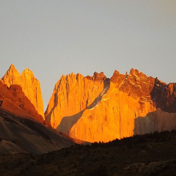 torre sur. torres del Paine. TorresDelPaine Patagonia Nido de Condor