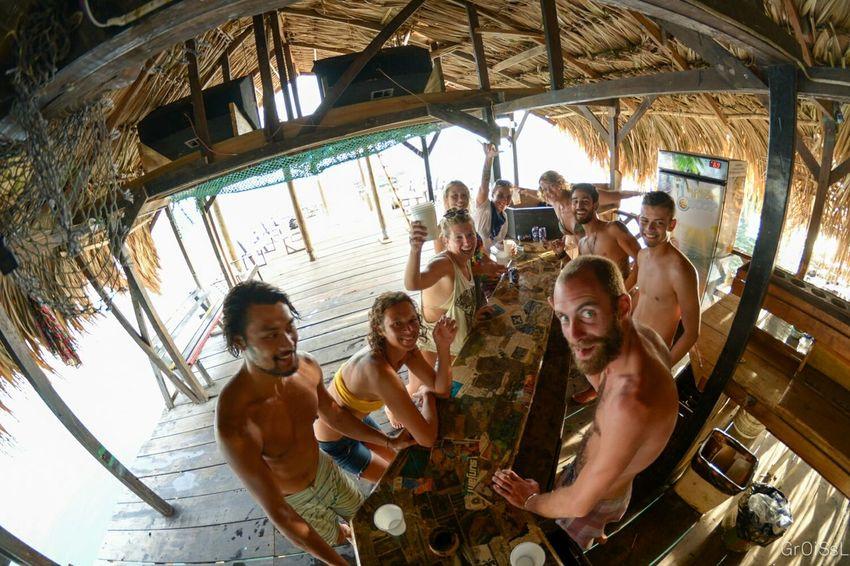 Flip Cup Coco Loco Portrait Utila Utila ♡ Honduras Dive Master Padi Pre Snorkel Test Good Life